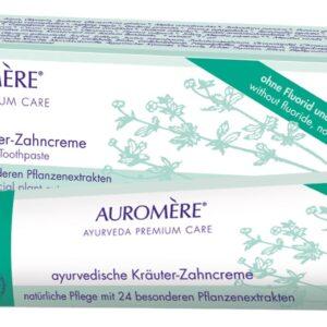 Berk, Körper und Seele, Pflegeprodukte Berk Ayurvedische Kräuterzahnpasta Auromere 75 ml Tube - AY-035 - Meine Spiritualität
