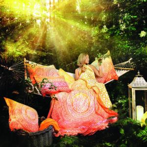 Berk, Blume des Lebens, Neuheiten, Textilien, Wohnen und Leben Berk Bettbezug Sunrise 135/200 cm inkl. Kissen 80/80 cm - EN-130 - Meine Spiritualität