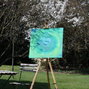 Energie-Bild, grün - Meine-Spiritualitaet.de