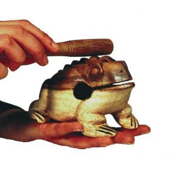 Bauer, Frösche Percussion-Frosch, micro -Handhabung -Meine Spiritualität