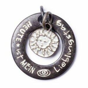 Anhänger, Schmuck LieblingsTag M Sahara & Sunshine S Sahara, Amulett Twin - Meine Spiritualität