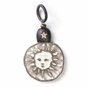 Anhänger, Geschenke, Schmuck Sunshine Sahara City, Amulett M - Meine Spiritualität