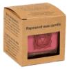 Duftprodukte, Kerzen + Kerzenhalter, Phoenix Ökologische Rapswachs-Duftkerze 1. Chakra Zimt, Muskat, Ingwer - Meine Spiritualität