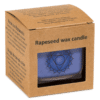 Duftprodukte, Kerzen + Kerzenhalter, Phoenix Ökologische Rapswachs-Duftkerze 5. Chakra Wildrose, Kamille - Meine Spiritualität