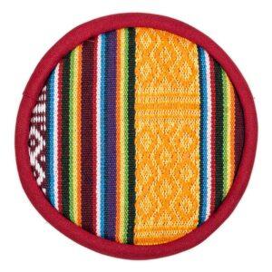 Klangschalen-Zubehör, Phoenix Klangschalenkissen flach – Tribal Design - Meine Spiritualität