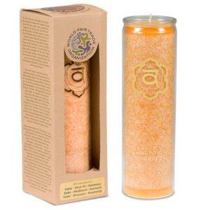 Duftprodukte, Kerzen + Kerzenhalter, Phoenix Duftkerze Stearin 2. Chakra Zeder, Tanne, Rosmarin - Meine Spiritualität