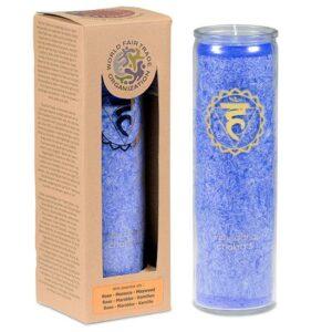 Duftprodukte, Kerzen + Kerzenhalter, Phoenix Duftkerze Stearin 5. Chakra Marokkanische Rose, Kamille - Meine Spiritualität