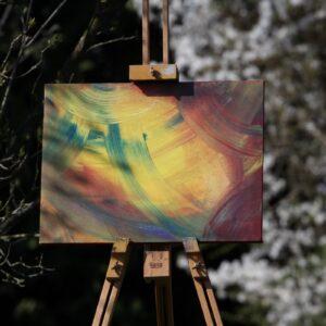 Bilder, Neuheiten, Wohnen und Leben Energie-Bild – Abstrakte Energiekreise - Meine Spiritualität - Ansicht 12