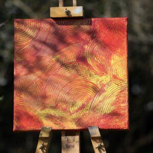 Bilder, Wohnen und Leben Energie-Bild – Abstrakte-Energiekreise - Meine Spiritualität - Ansicht 5