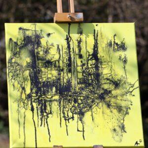 Energie-Bild – Stadt im Schatten - Meine Spiritualität