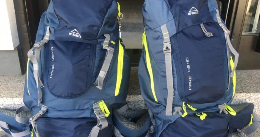 Jakobsweg - MeineSpiritualitaet.de - Auf geht´s, die Rucksäcke sind gepackt