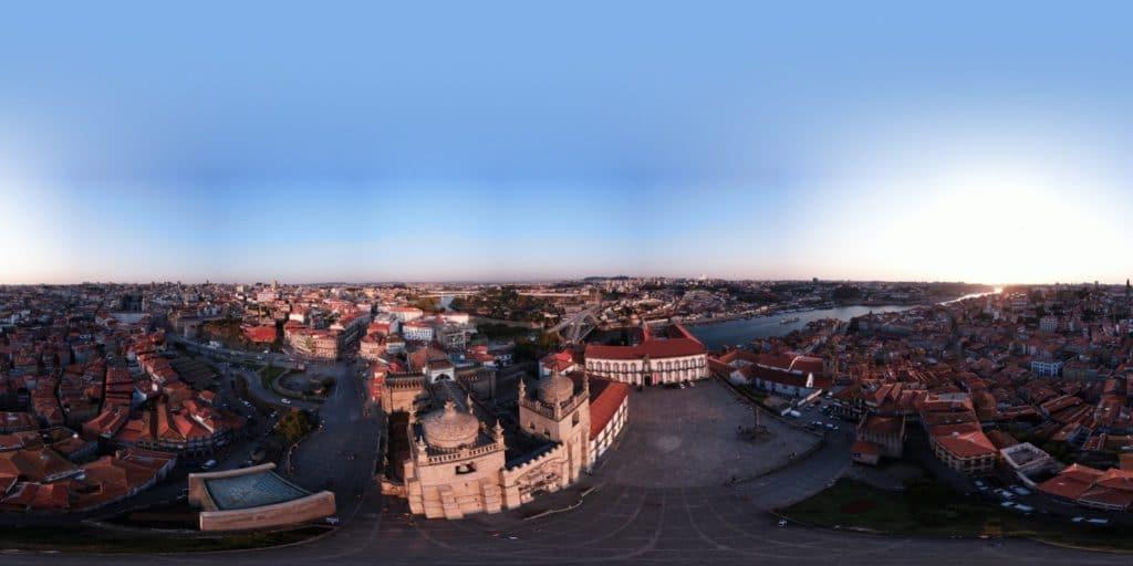 Jakobsweg - Meine-Spiritualitaet.de - 360-Grad-Panorama Porto