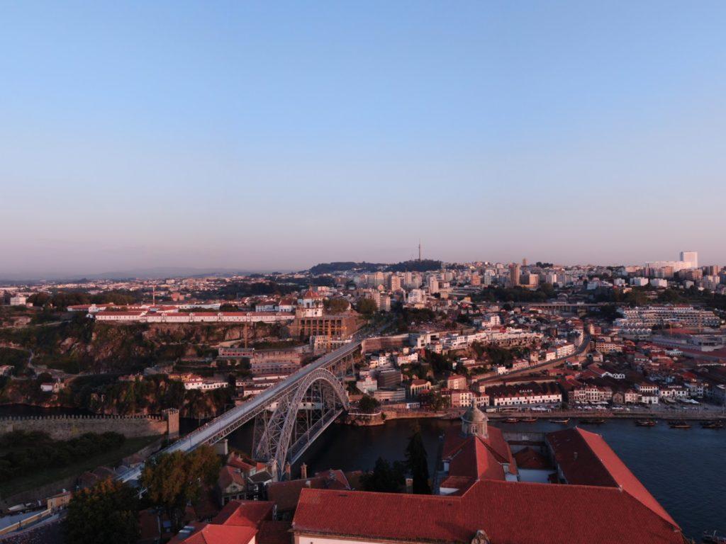 Jakobsweg - Meine-Spiritualitaet.de - Porto aus der Vogelperspektive