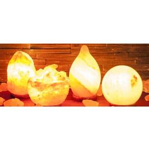 Salzkristalllampen