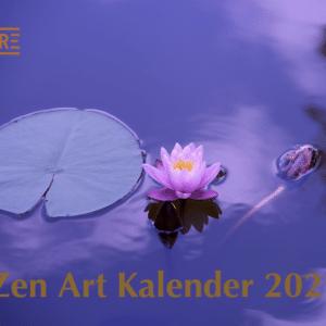 Zen Art Kalender 2021 - ARE Verlag - Wandkalender - 2021 - Kalender - Meine-Spiritualitaet.de - Geschenke - Weihnachten