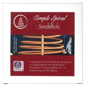 Meine-Spiritualitaet - Sandelholz - Räucherspirale - Berk - Räuchern