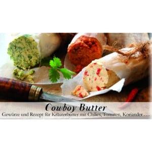 Cowboy-Butter - FeuerundGlas - Meine-Spiritualitaet - Kochen - Geschenkset - Grillen - Kräuterbutter