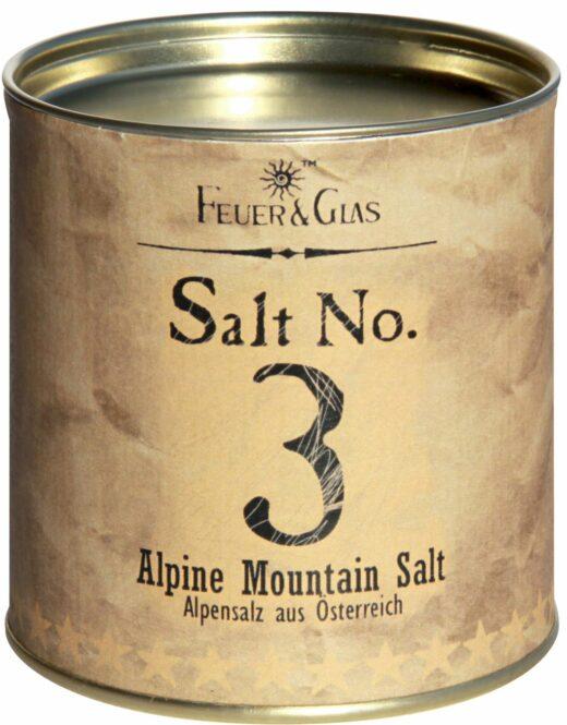 FeuerundGlas – Feuer & Glas – Gewürzmischung – Grillen – Geschenk – Meine-Spiritualitaet.de – Männergeschenk – Kräutermischung – Salt No. 3, Alpine Mountain Salt