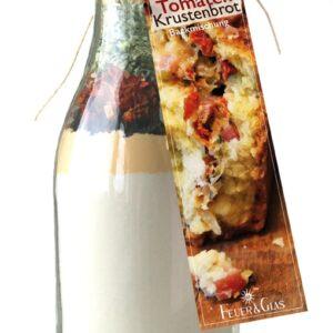 FeuerundGlas – Feuer & Glas – Weckglas – Brot – Grillen – Geschenk – Speck Tomaten Krustenbrot – Backmischung - Meine-Spiritualitaet.de