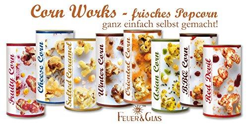 FeuerundGlas – Feuer & Glas – Gewürzmischung – Grillen – Geschenk – Meine-Spiritualitaet.de – Männergeschenk – Fruit Corn – Popcorn Fruit Corn – Popcorn selber machen – Popcorn mit Geschmack