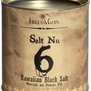 FeuerundGlas – Feuer & Glas – Gewürzmischung – Grillen – Geschenk – Meine-Spiritualitaet.de – Männergeschenk – Kräutermischung – Salt No. 6 - Hawaiian Black