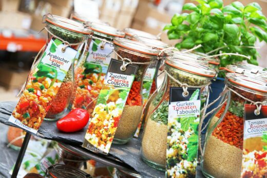 FeuerundGlas – Feuer & Glas – Gewürzmischung – Grillen – Geschenk – Meine-Spiritualitaet.de – Gourmet Mischung, Arabischer Linsen Salat, Vegetarisch Kochen, Schnelle Küche