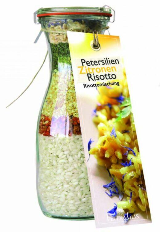 Petersilien-Zitronen-Risotto - Feuer und Glas – Feuer & Glas - meine-spiritualitaet.de – Gourmet – Grillen - Meine Spiritualität - Geschenk – Kochen – Männergeschenk – regionale Herstellung – Vegetarisch – Italienisch Kochen – Risotto