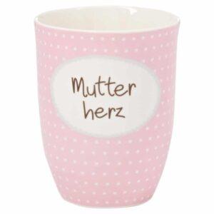 Meine-Spiritualitaet.de – Mea Living – Geschenke – Tasse von Mea Living – tolle Geschenkidee – Tasse mit Henkel – Geschenk für Mutter - Mutter – besondere Geschenke – Lustige Sprüche – Mutterherz - Muttertaggeschenk – BEC-021