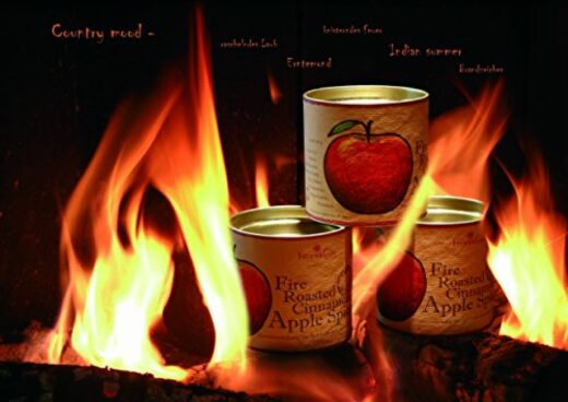 Feuer und Glas - Apple Spices – Apfelsaft Gewürz – Kokosblüten Zucker – Fire Roasted Cinnamon Apple Spice – Geschenk – Meine-Spiritualitaet.de – Gewürz – Glühwein - Apfelsaft