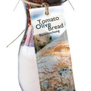 Feuer und Glas – Feuer & Glas – Meine-Spiritualitaet.de – Gourmet Brotbackmischung – Mini – Brot backen – Geschenk – Tomato Olive Bread