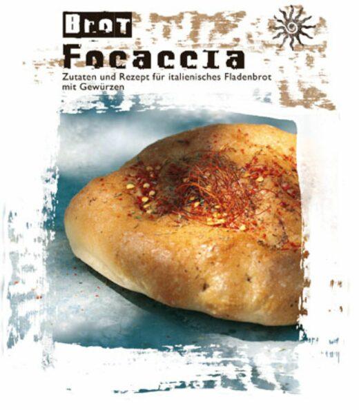 Meine-Spiritualitaet.de – FeuerundGlas – Facoccia – Italienisches Fladenbrot - Fladenbrot – Geschenke unter 20 € - Geschenk – Backmischung – Backen – Verschenken – Feuer & Glas